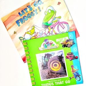 Kids Books - Let's Go Froggy & Things That Go